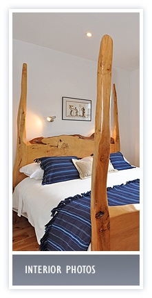 click here for photos of bedrooms and accommodation at The White Cottages